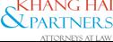 Logo Công ty Luật TNHH Khang Hải