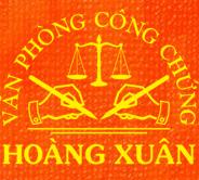 Logo Văn phòng công chứng Hoàng Xuân