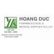Logo Công Ty TNHH Dược Phẩm & Trang Thiết Bị Y Tế Hoàng Đức