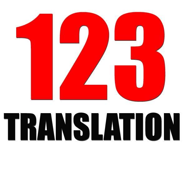 Logo Công Ty Dịch Thuật Chuyên Nghiệp 123 Việt Nam