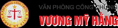 Logo Văn phòng công chứng Vương Mỹ Hằng