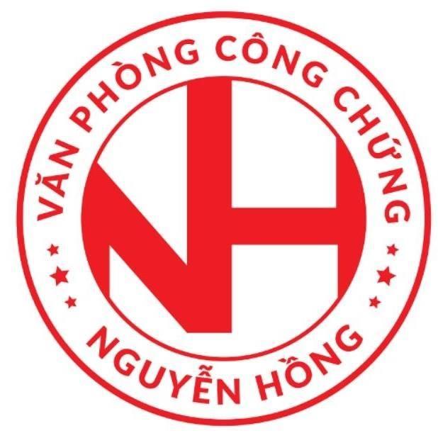 Logo Văn phòng công chứng Nguyễn Hồng