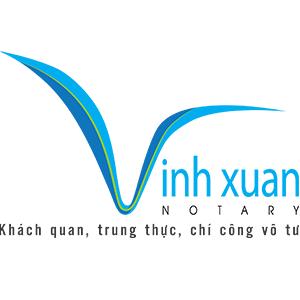 Logo Văn phòng Công chứng Vĩnh Xuân