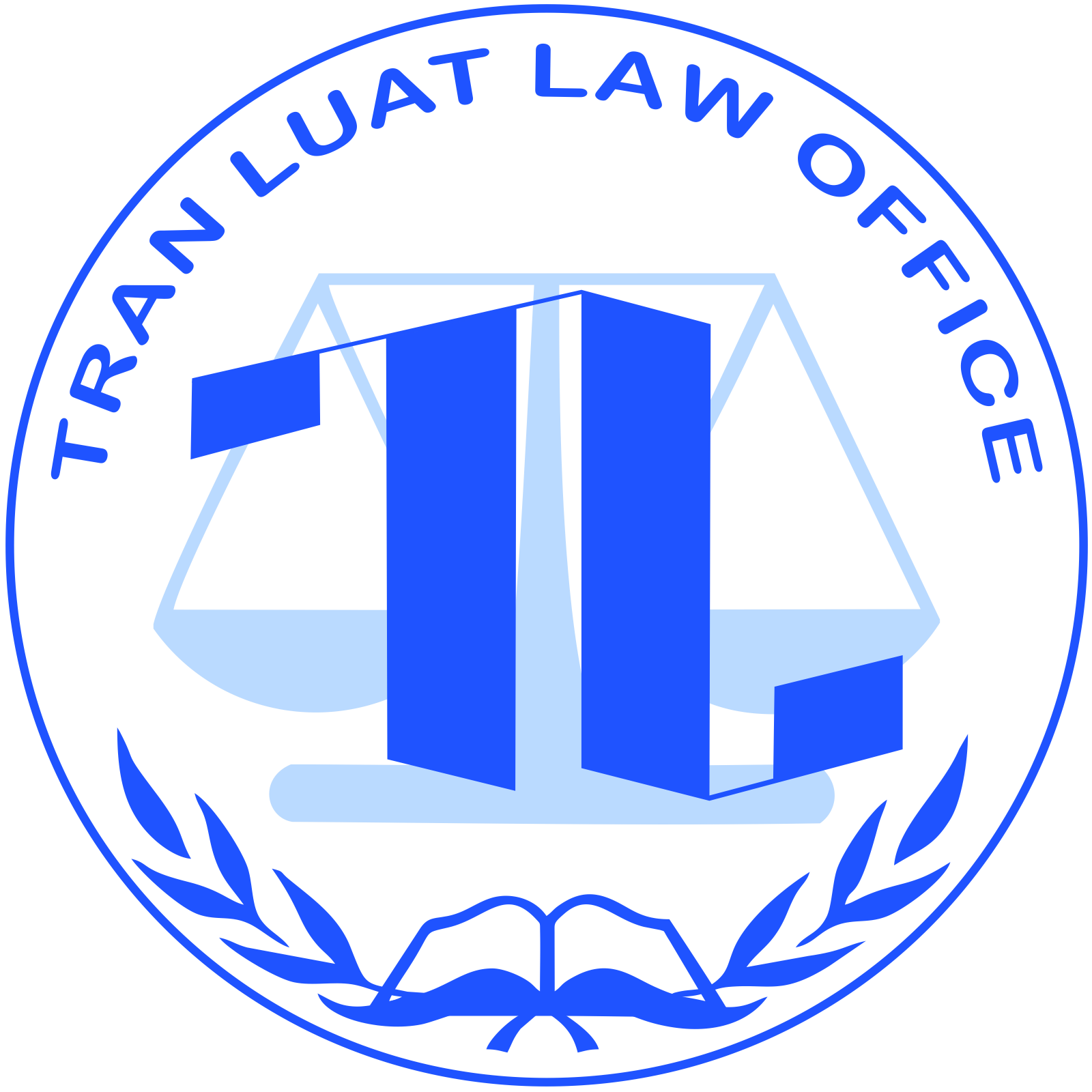 Logo Văn phòng luật sư Trần Luật