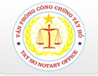 Logo Văn Phòng Công Chứng Tây Hồ