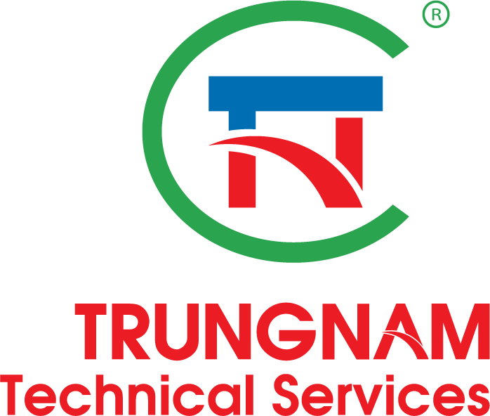 Logo Công ty TNHH MTV Dịch vụ Kỹ thuật Trung Nam (TNTS)