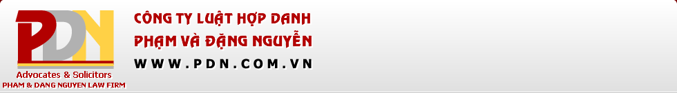 Logo Công ty luật hợp danh Phạm và Đặng Nguyễn