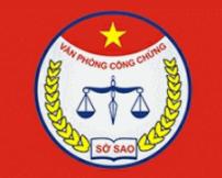 Logo Văn phòng công chứng Sở Sao