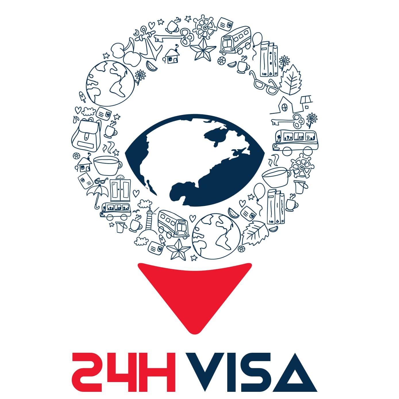 Logo Công ty TNHH DV Thị thực 24h Vietnam VISA
