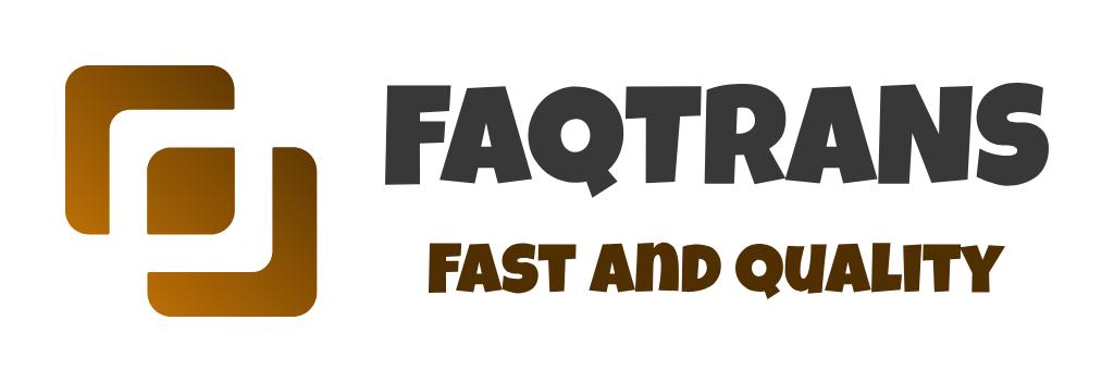 Logo Công ty TNHH Dịch thuật và Tư vấn FAQTrans