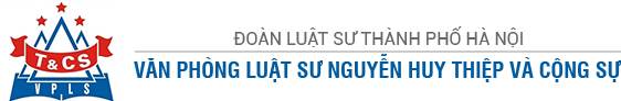 Logo Văn Phòng Luật Sư Nguyễn Huy Thiệp Và Cộng Sự