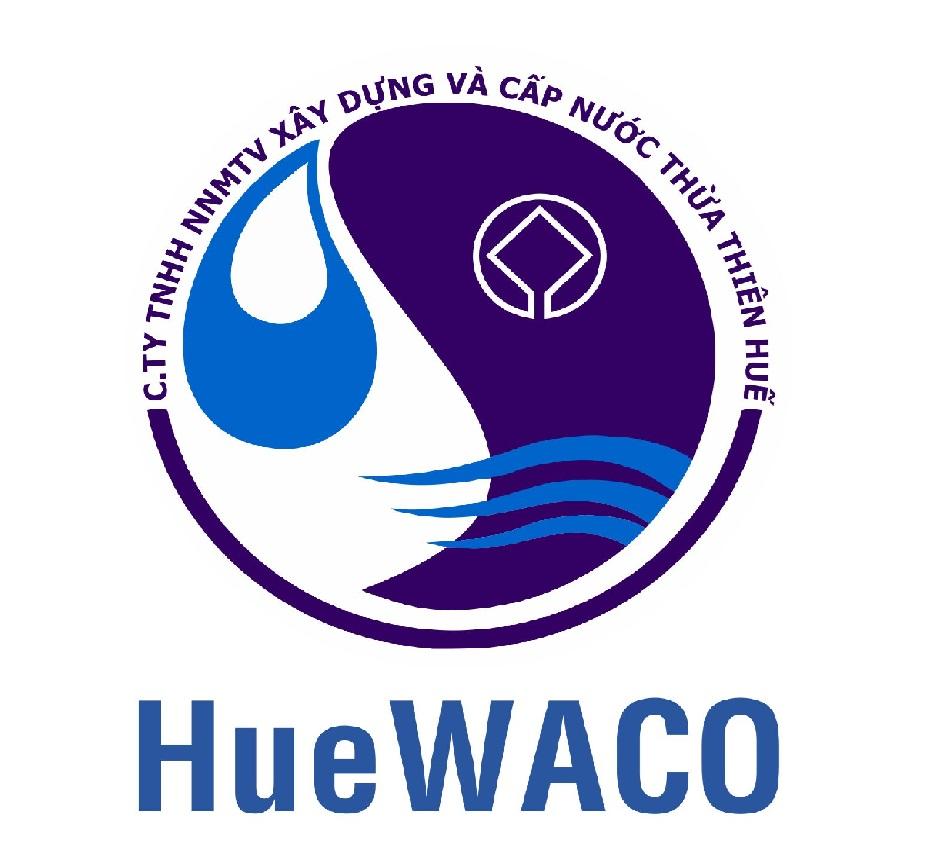 Logo Công ty Cổ phần Cấp nước Thừa Thiên Huế (HueWACO)