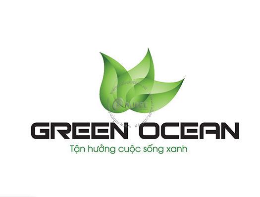 Logo Công ty TNHH XD Green Ocean