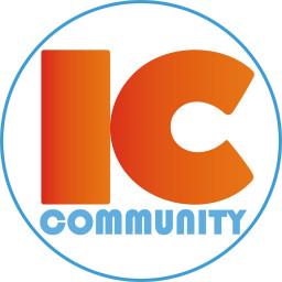 Logo Công ty Cổ phần Truyền thông Quốc tế Incom (IC Community)