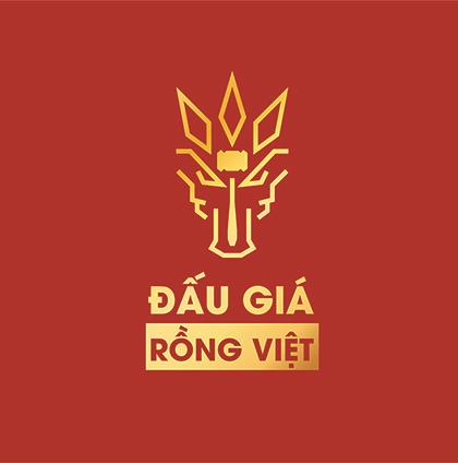 Logo Công Ty Đấu Giá Hợp Danh Rồng Việt