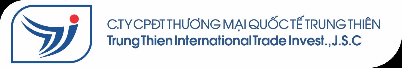Logo Công ty Cổ phần Đầu tư Thương mại Quốc tế Trung Thiên