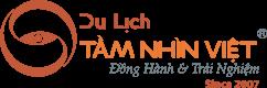 Logo Công ty Cổ phần Thương mại & Du lịch Tầm Nhìn Việt