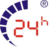 Logo Công ty TNHH MTV Đào Tạo - Kỹ Thuật - Thương Mại Hai Bốn Giờ