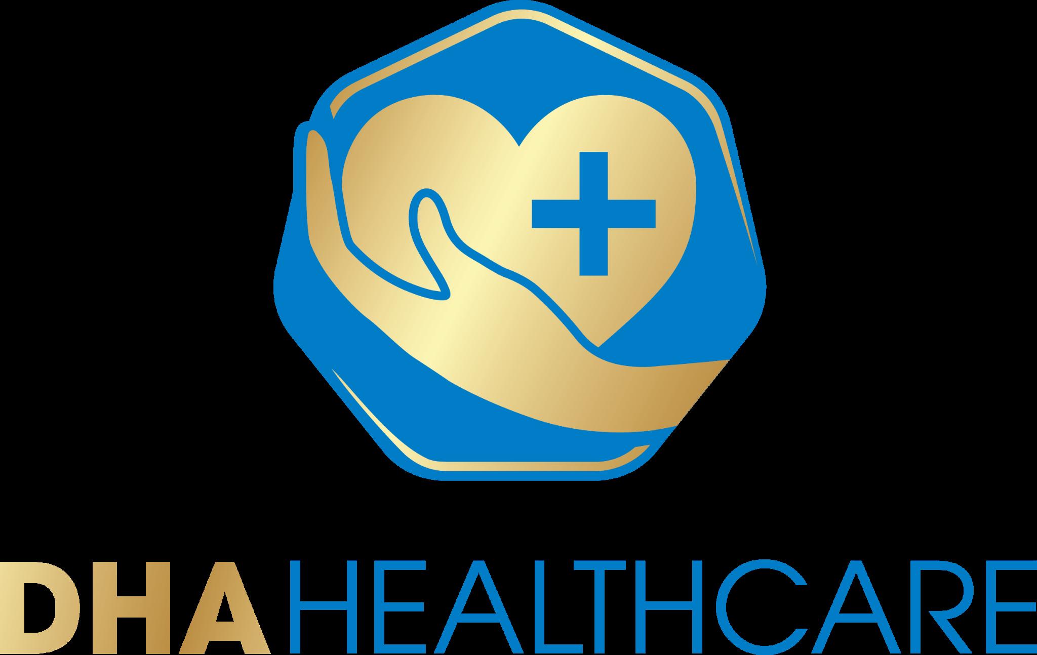 Logo Công Ty Cổ Phần Y Tế DHA