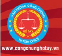 Logo Văn phòng Công chứng Nguyễn Thị Thu Hương
