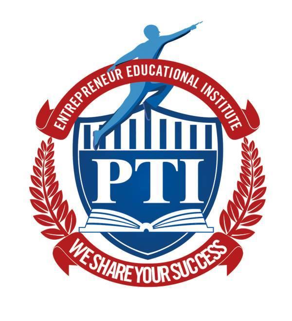 Logo Công Ty Cổ Phần Trường Đào Tạo Doanh Nhân PTI
