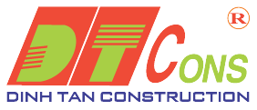 Logo Công ty Cổ phần Đầu tư Xây dựng Định Tân (DTCons)