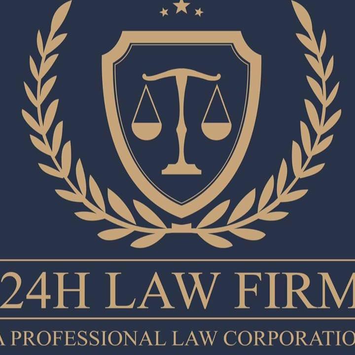 Logo Công ty Luật TNHH Một Thành Viên 24H (Hãng luật 24H)