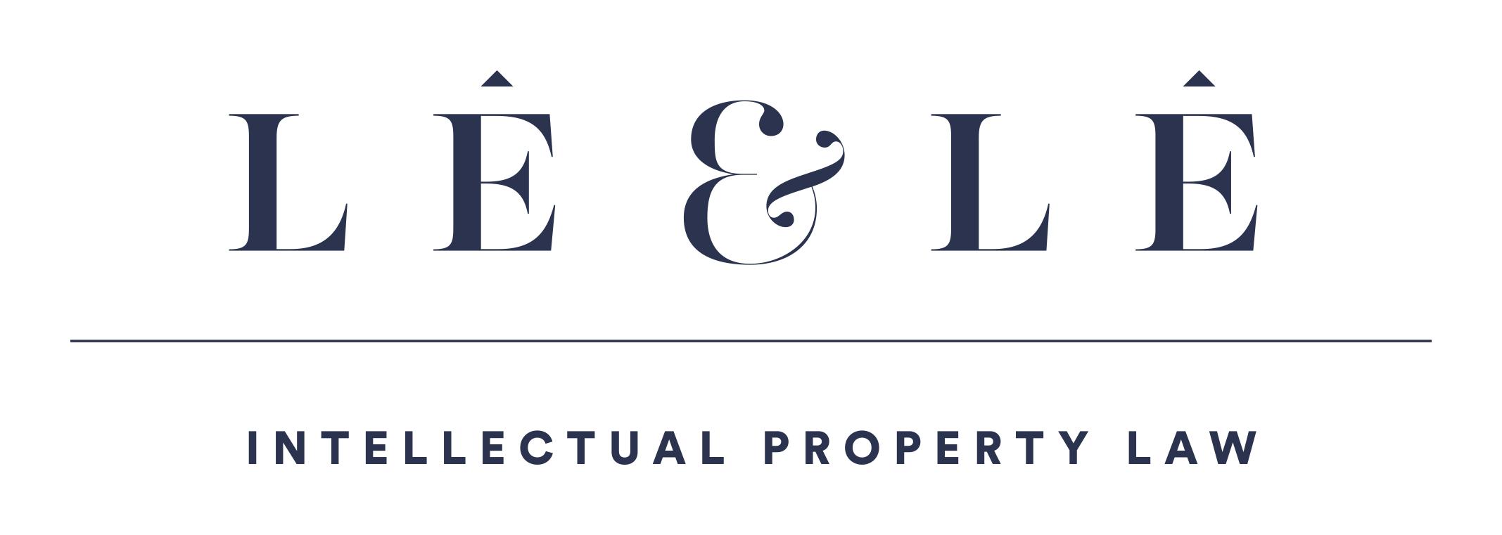Logo Văn phòng luật sở hữu trí tuệ Lê & Lê