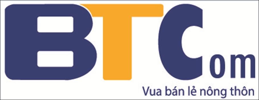 Logo Công ty CP Phân phối và Bán lẻ BT (BTCom)