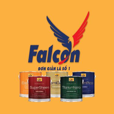 Logo Công ty Cổ phần sơn FALCON Coatings Việt Nam