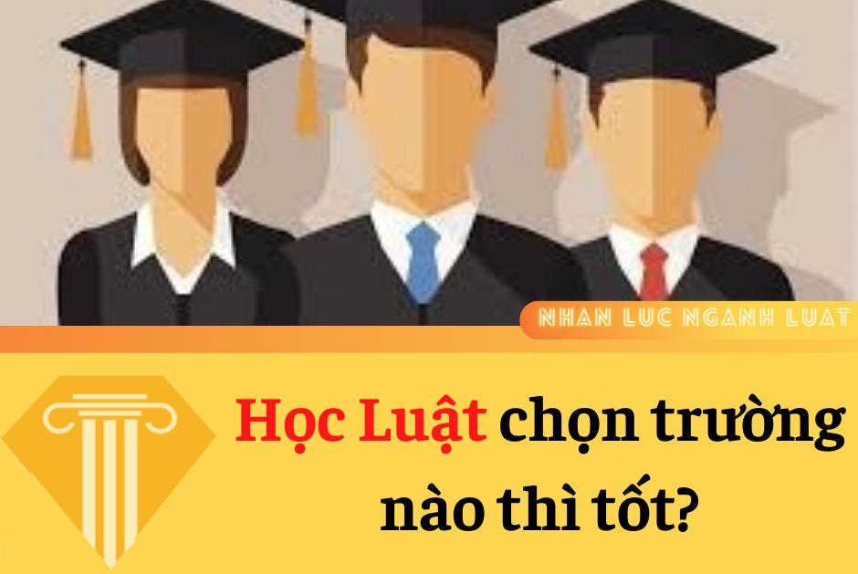 Học Luật chọn trường nào thì tốt?